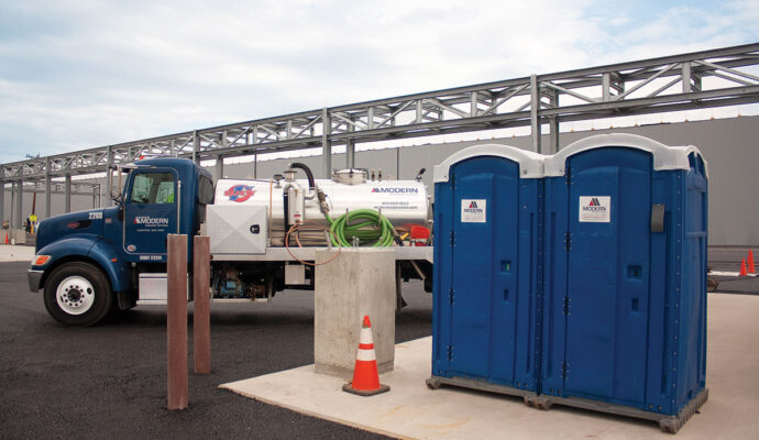 30 Yard Waste Dumpster Containers with Portable Toilets-Collier County Waste Dumpster Rentals Services-We Offer Residential and Commercial Dumpster Removal Services, Portable Toilet Services, Dumpster Rentals, Bulk Trash, Demolition Removal, Junk Hauling, Rubbish Removal, Waste Containers, Debris Removal, 20 & 30 Yard Container Rentals, and much more!